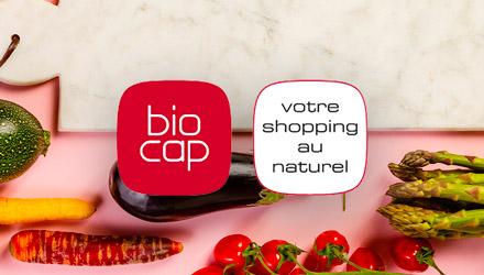 Biocap projet web réalisé par Fidelo