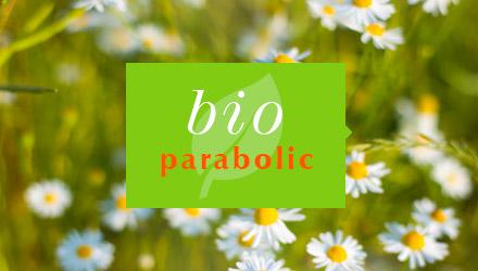 BioParabolic projet web réalisé par Fidelo
