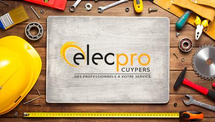 Elecpro Cuypers projet web réalisé par Fidelo