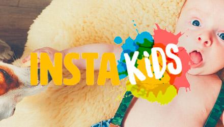 InstaKids projet web réalisé par Fidelo