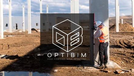 Optibim projet web réalisé par Fidelo