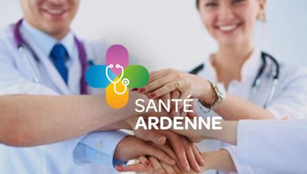 Santé Ardenne projet web réalisé par Fidelo