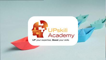UPskill Academy projet web réalisé par Fidelo